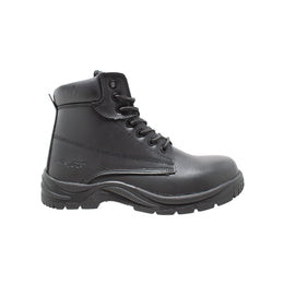 "Men's 6"" Composite Toe Work Boot Black - 9801 - Shop Genuine Leather men & women's boots online 