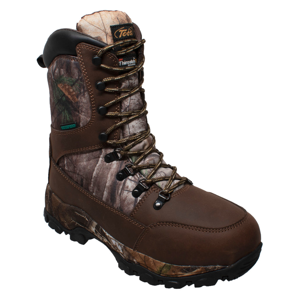 "9870 Men's 800g 10"" Brown Camo Boot"