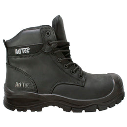 "Men 6"" Black Waterproof Composite Toe Work Boot - 9900-BK - Shop Genuine Leather men & women's boots online 