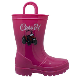 Children's PVC Boot with Light-Up Outsole Pink - CI-4009 - Shop Genuine Leather men & women's boots online | AdTecFootWear