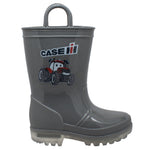 Toddler's PVC Boot with Light-Up Outsole Grey - CI-5010 - Shop Genuine Leather men & women's boots online | AdTecFootWear
