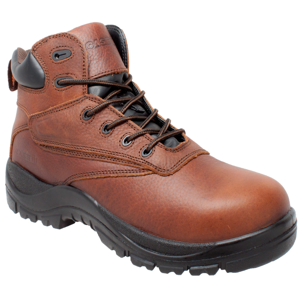 "CI-9006 Men's 7"" Wateproof Composite Safety Toe Brown"