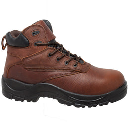 "Men's 7"" Waterproof Composite Safety Toe Brown - CI-9006 - Shop Genuine Leather men & women's boots online 