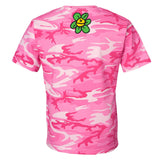 hippie lords tee - pink camo