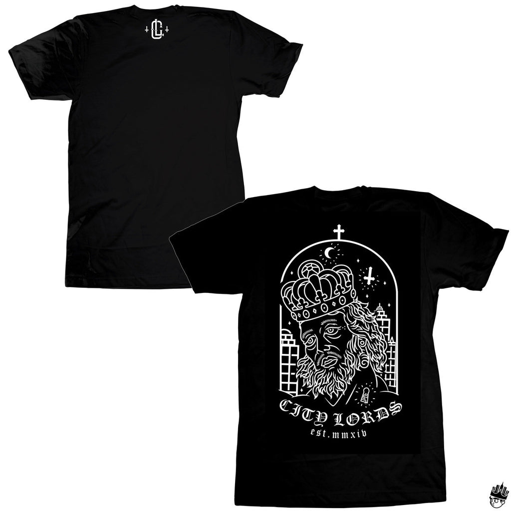 lords in the city tee - black