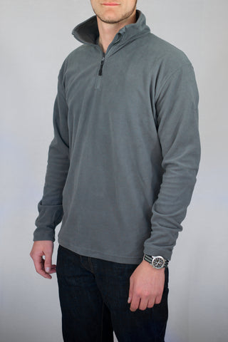 Men's Base Layer Pullover-Graphite