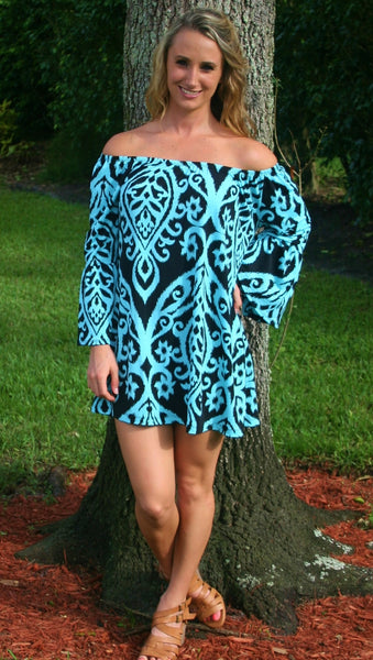 Call Me Sassy Mint Green & Black Dress - Midnight Magnolia Boutique