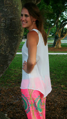 Cream Colored Classic Tank Top - Midnight Magnolia Boutique