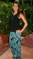 Copy of Mint & Black Dazzle Print Palazzo Pants - Midnight Magnolia Boutique