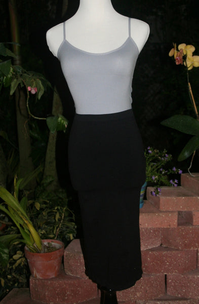 Black Long Skirt or Dress Undergarment - Midnight Magnolia Boutique