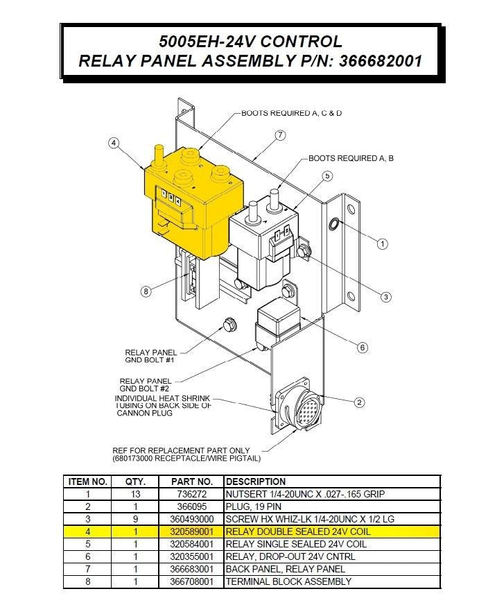 Surprising Auto Crane 5005Eh Solinoid Wiring Diagram Schematics Diagram Wiring Database Ilarigelartorg