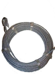 "Auto Crane 360155000 Wire Rope Assembly 80'x5/16"" for 4004H, 5005H"
