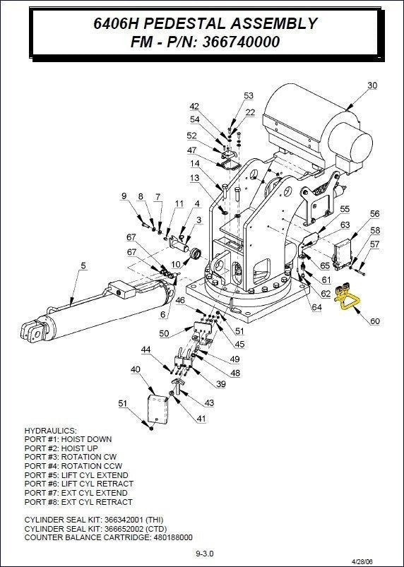liftmoore crane parts manuals