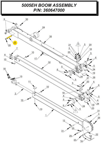 Auto Crane 366193000 Pin Extension Cyl
