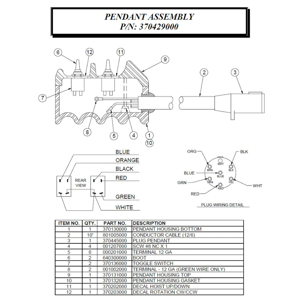 Auto Crane Wiring Diagram 6482 Schematic Diagrams 3203 Prx Trusted
