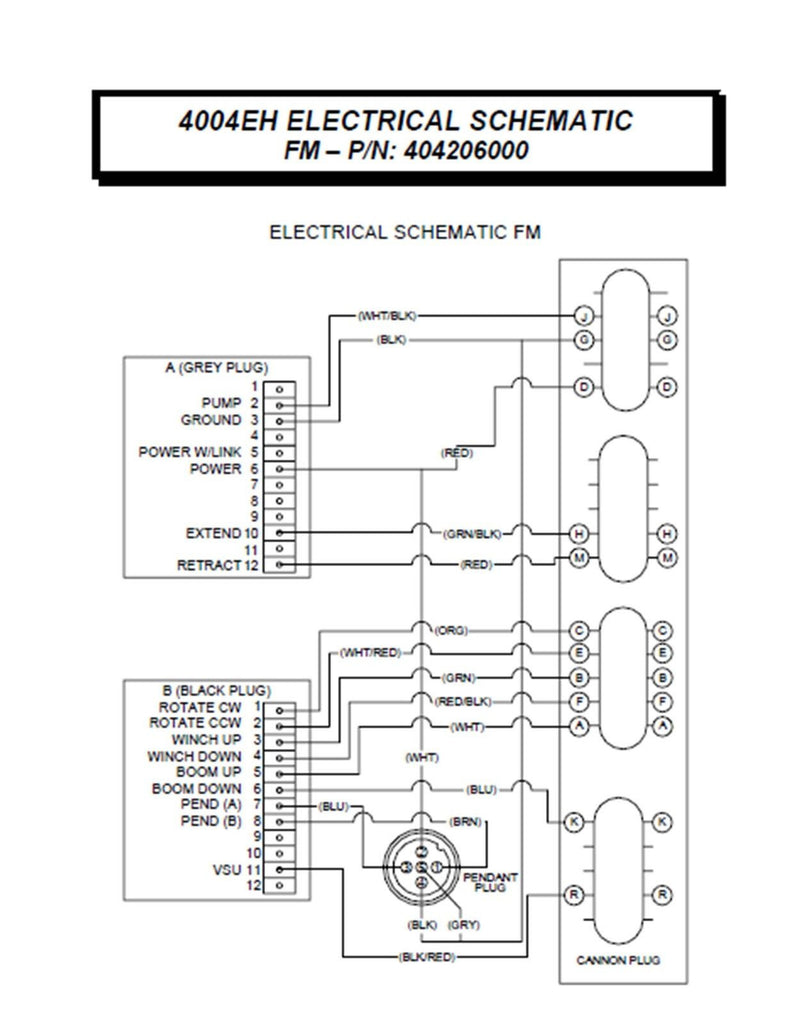Jlg 2032e2 Wiring Diagram - Wiring Diagrams Schematics