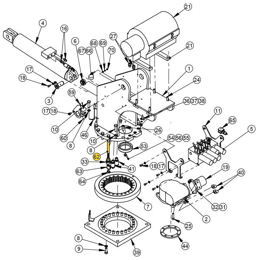 auto crane 3203 wiring diagram typical ignition system