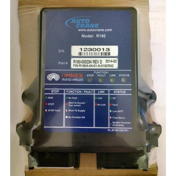 Auto Crane 460158000 Receiver, Non-Proportional, 4 Toggle w/ On-Off