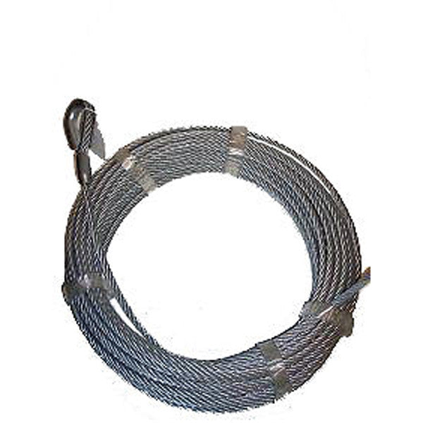 Auto Crane 470017000 Wire Rope Assembly 12 x 120' for 14005H