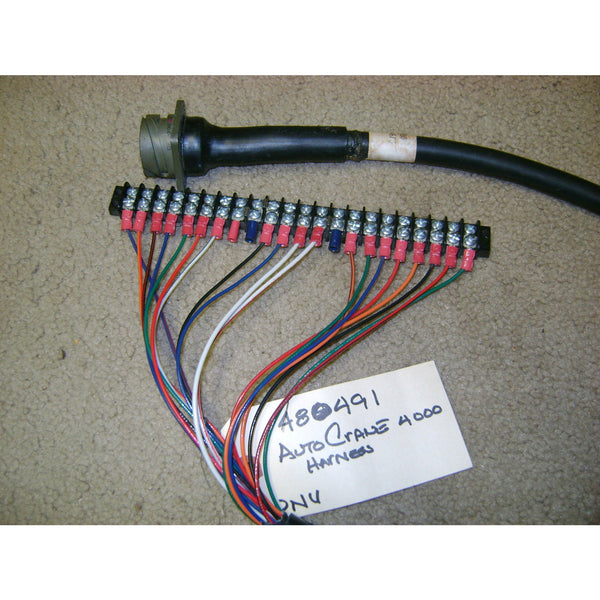 Auto Crane 480491080 WIRING HARNESS 19 PIN 1/4TURN DIS