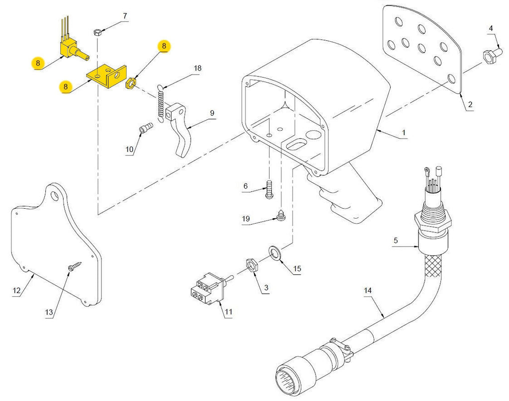 Auto Crane 5005eh Wiring Diagram Diagrams 6006 3203 Typical Ignition System Service Parts
