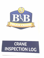 Auto Crane 999978000 Inspection Log