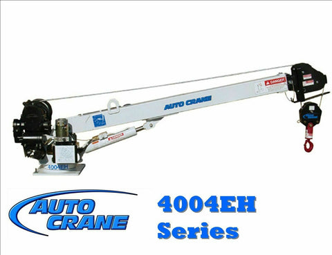 AUTO CRANE 404240009 DECAL LAYOUT 4004EH (20FT BOOM) FM/HW