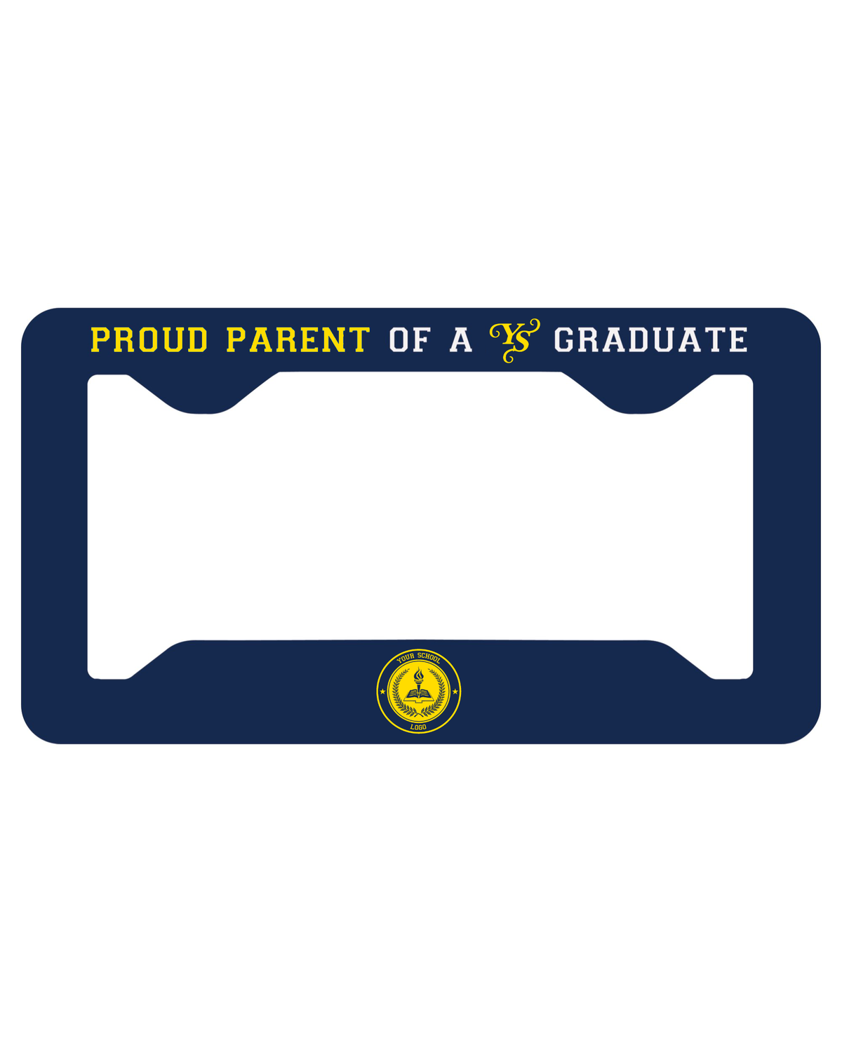 Personalized Proud Parent Graduate License Plate Frame