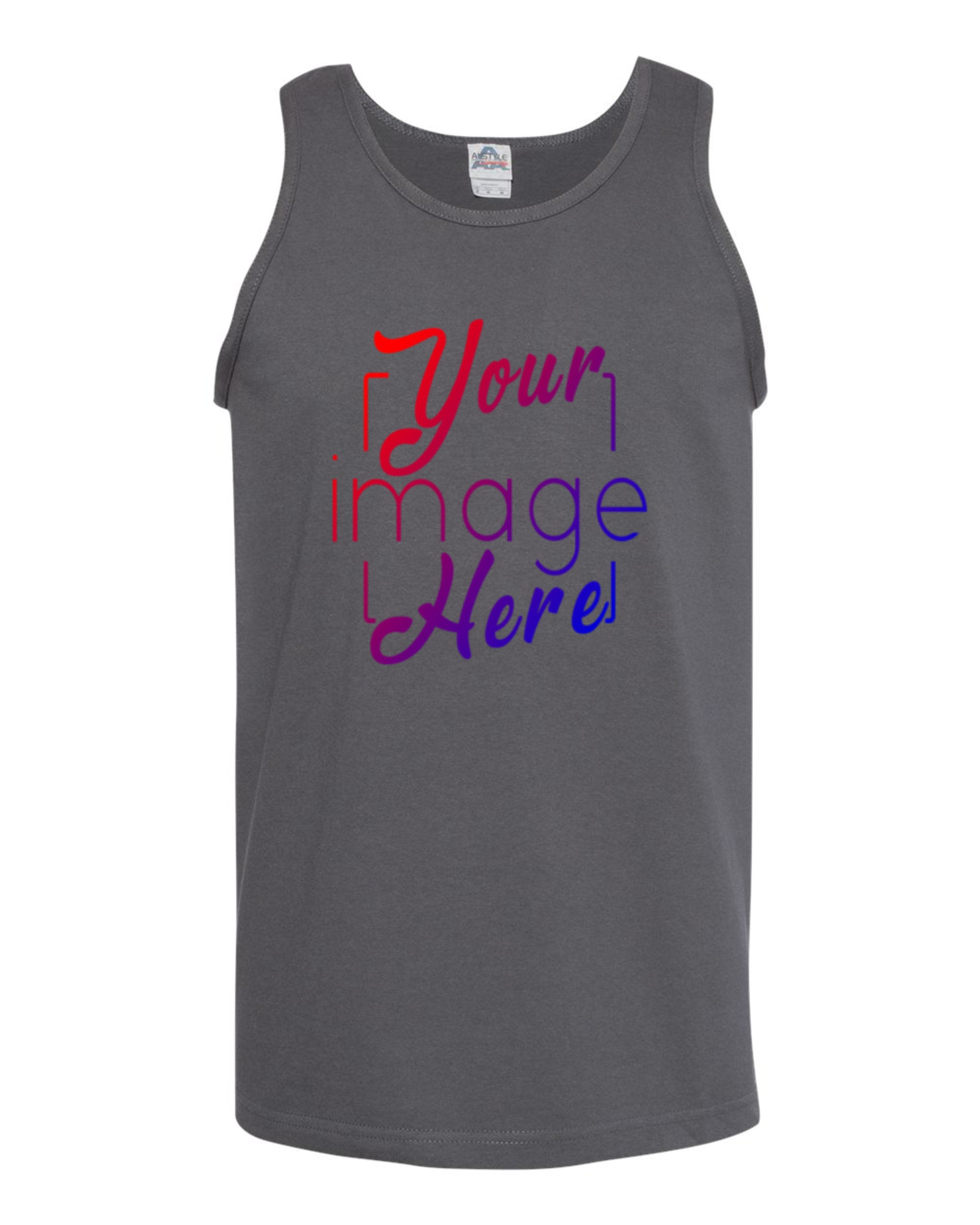 Front Image of Alstyle Tank Top for Custom Printing