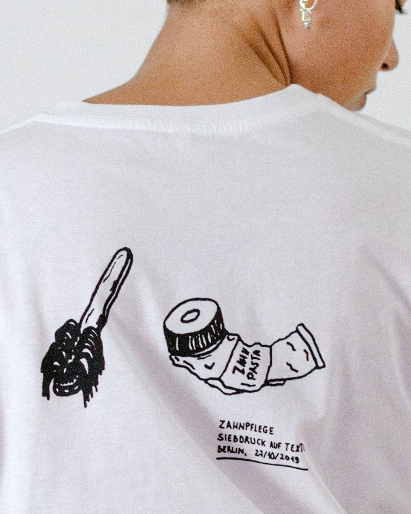 "Malimo X General Consulting: Unisex T-Shirt ""Zahnpflege"""