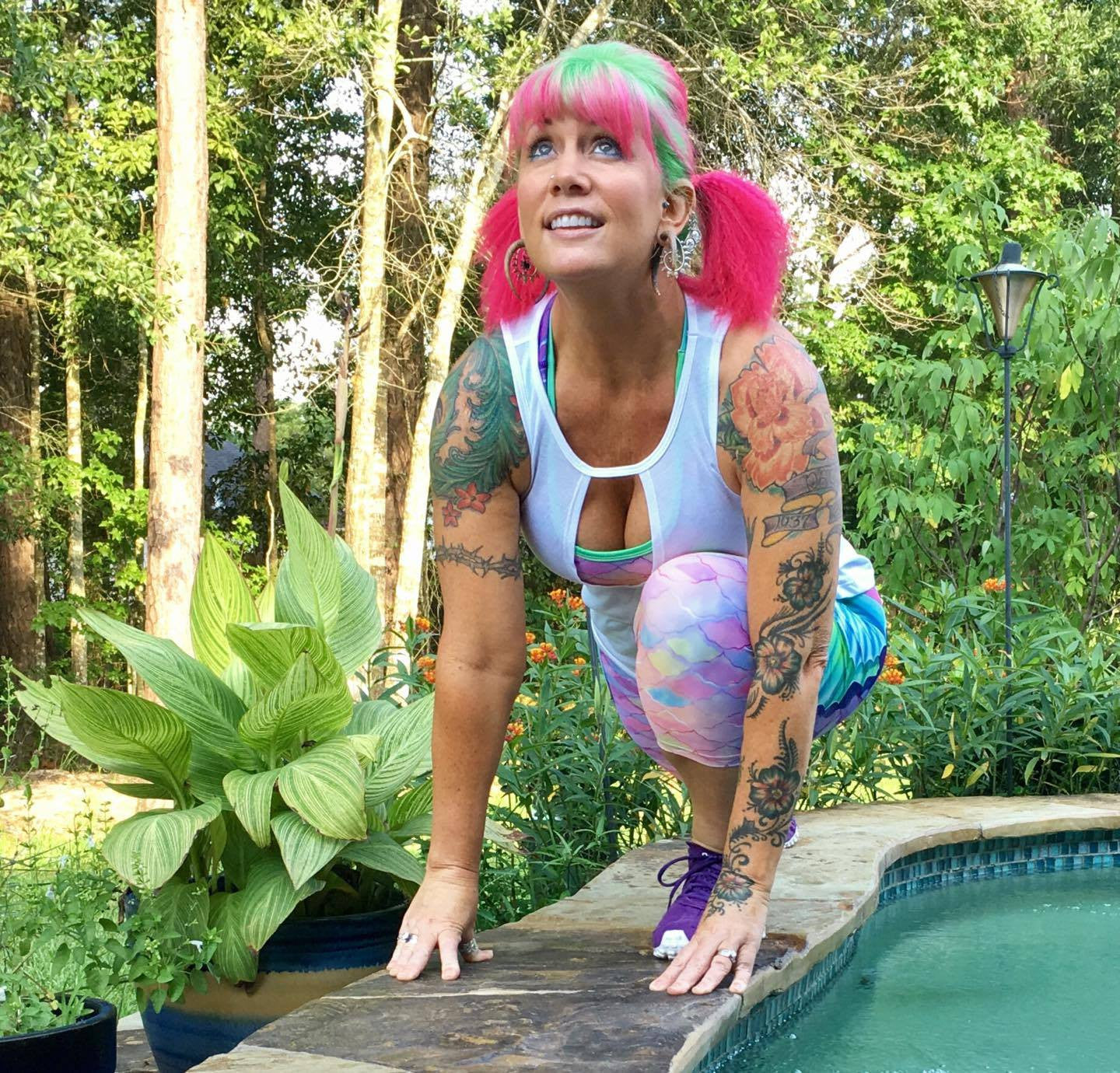 Kelli's Fitness Selfies - Prismatic Dream and Gymnasty Sessions!