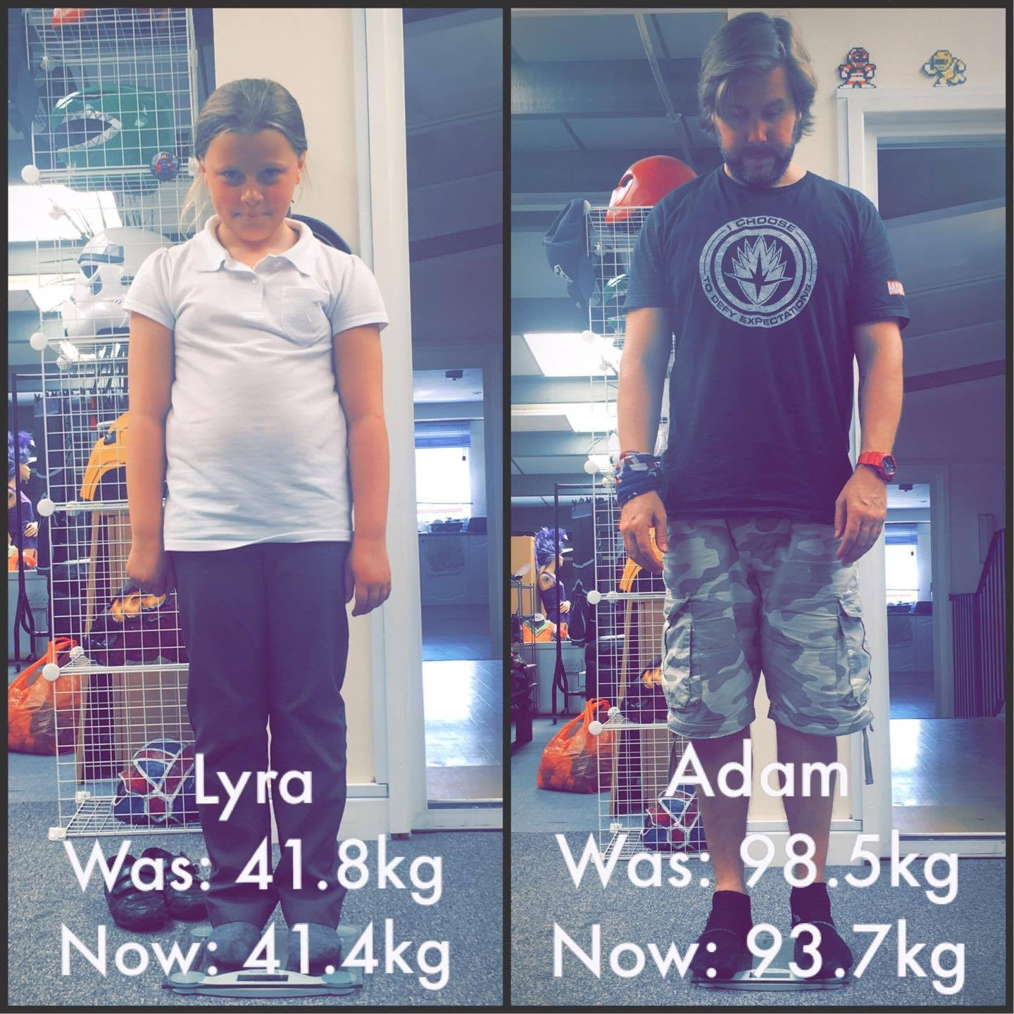 Adam & Lyra's Get Fit 8 Week Programme - Week 2