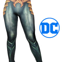 Aquaman Leggings by Wild Bangarang