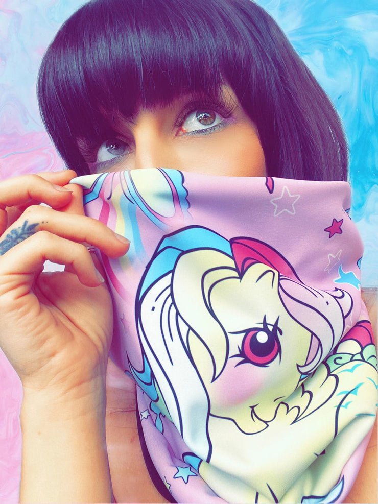 Official Hasbro My Little Pony Butterflies & Ponies Snood