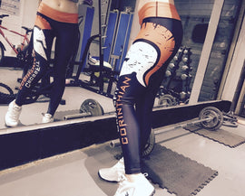 CrossFit Corinthian Long Length Compression Fitness Leggings