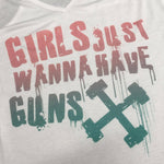 Origins Girls Just Wanna Have Guns V-Neck Vest
