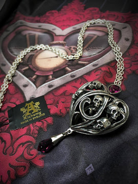 Heart Necklace Keepers Alchemy