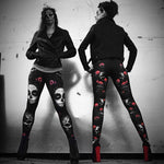 Anne Stokes Day of the Dead Leggings