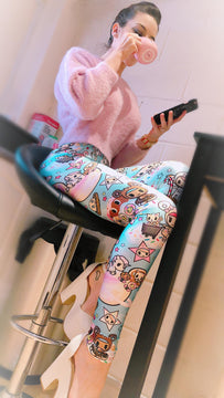 KIDS Tokidoki Donutella Leggings