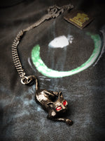 Alchemy Gothic Jewellery Pewter Cat Sith Pendant