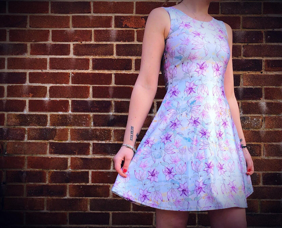 Claire Louise Sugared Almonds Skater Dress