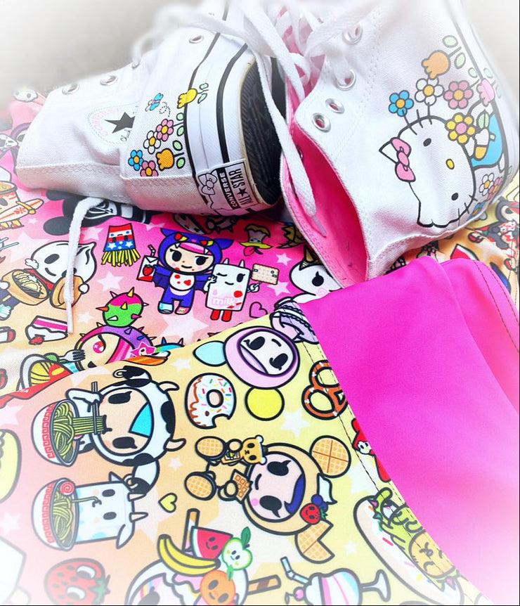 Official Tokidoki Cravings Cycle Fitness Shorts