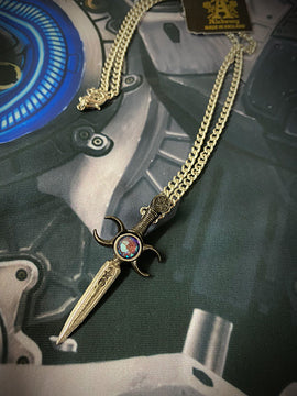 Alchemy Gothic Jewellery Athame Necklace