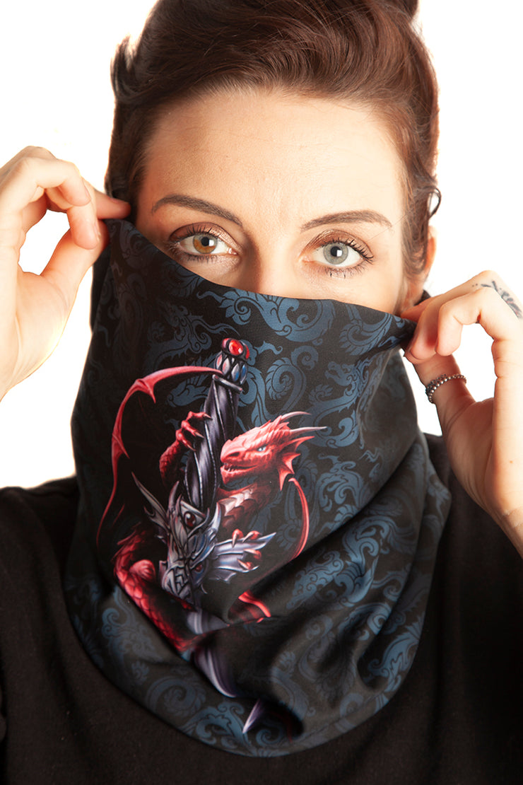 Official Anne Stokes Dragon Dagger Snood