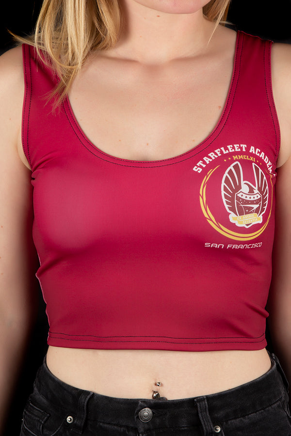 Star Trek Starfleet Vest Crop Top