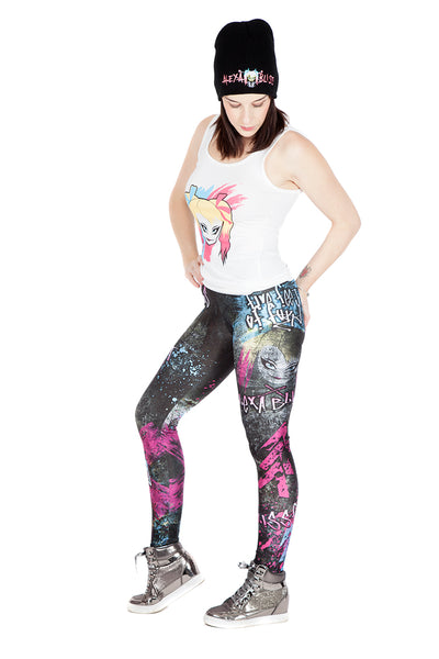 "WWE Alexa Bliss ""Five Feet of Fury"" Leggings"