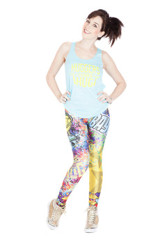 "WWE Bayley ""Huggers Gonna Hug"" Leggings"