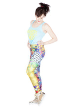"""Huggers Gonna Hug"" Bayley WWE Leggings"