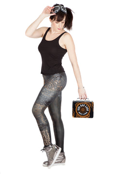 "WWE Becky Lynch ""Bad Lass"" Leggings"