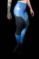 Star Trek The Next Generation Medical Blue Leggings